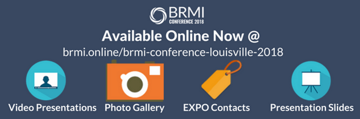 #BRMI2018 Post-Conference Resource Center is Complete