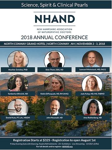 Dr. Thom to Speak at NHAND Conference Nov. 2-3