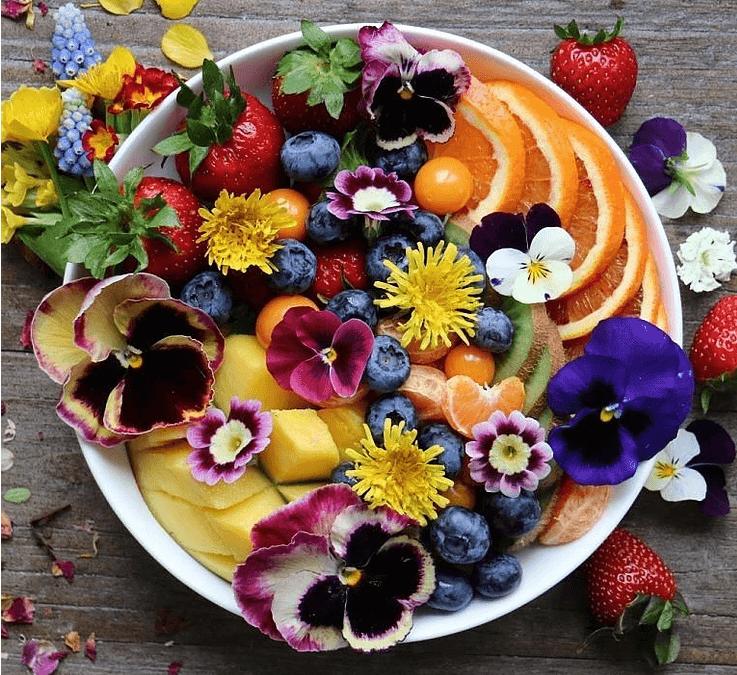 Twenty Edible Flowers