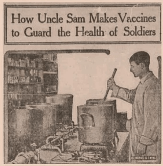 How Uncle Sam Makes Vaccines to Guard the Health of Soldiers